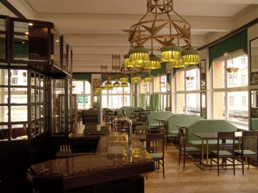 Interior of Grand Cafe Orient in Prague
