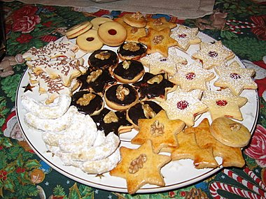 Czech Cookies House Cookies