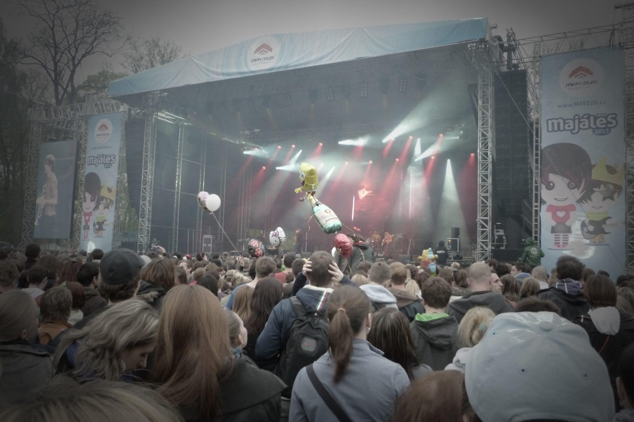 The festival of Majáles | Foreigners cz Blog