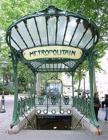 Steve Cadman, Subway station Les Abesses (Paris)