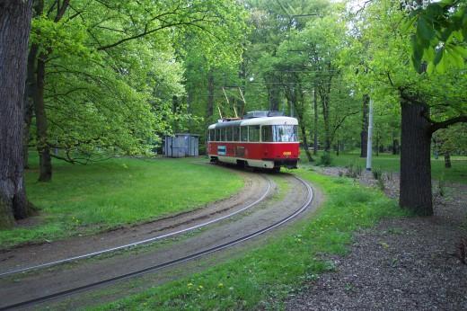Praha,_Stromovka,_tramvaj