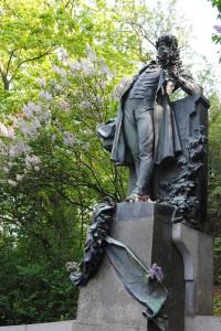 Karel Hynek Mácha statue