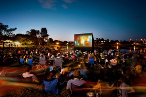 Open air cinemas in Prague