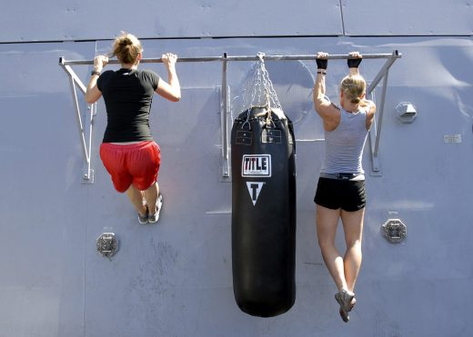Pull ups outdoor