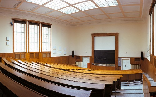 Charles University, lecture hall