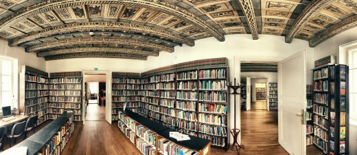 The AAU Library houses the largest English-language book collection
