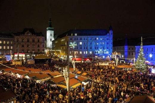 Brno Christmas atmosphere