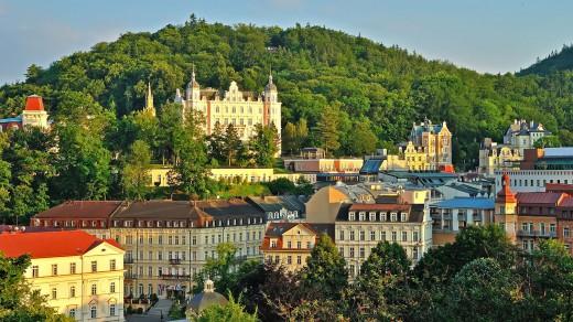 karlovy vary spa city in czech republic