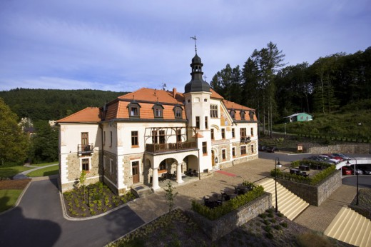 Luhacovice spa, Czech Republic