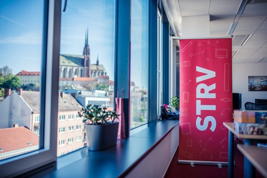 A view from STRV's Brno office