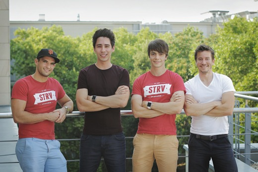 Lubo Smid, Pavel Zeifart, Martin Stava and David Semerad - co-founder team of STRV