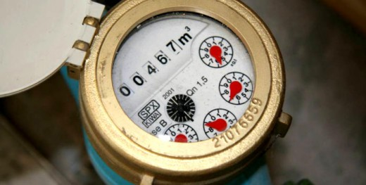 water meter readings