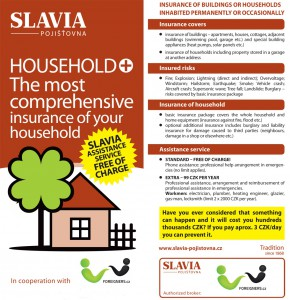 Slavia household insurance