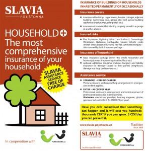 Slavia household insurance