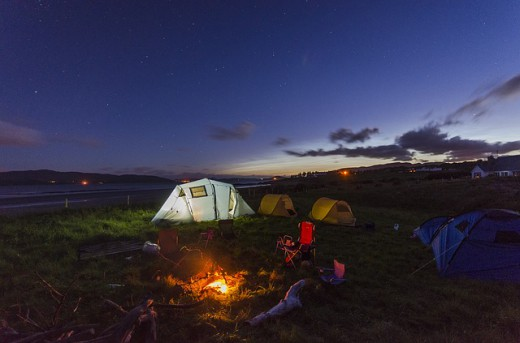 summer bucket_camping
