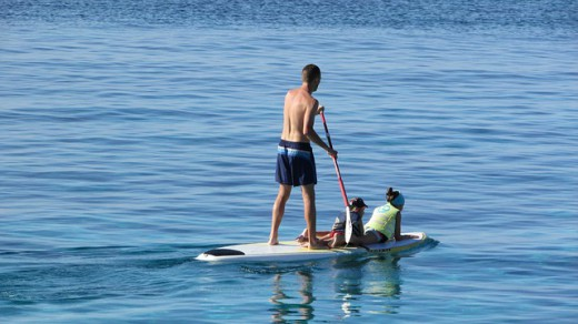 summer bucket_paddleboarding