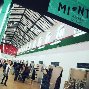 MINT weekend market in Prague