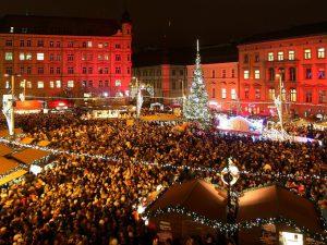 Christmas market Brno