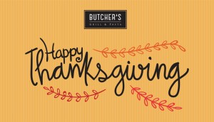 thanksgiving butchers