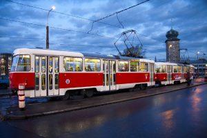 Tram-in-Prague