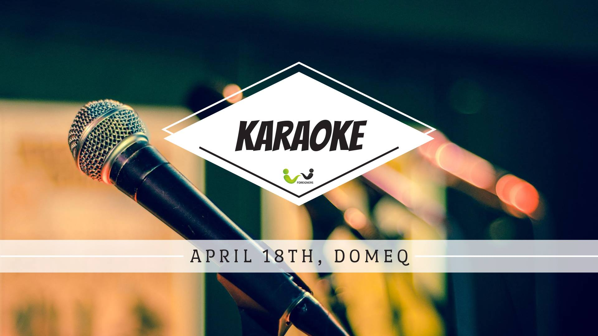 Join us for Karaoke Night at Domeq! | Foreigners cz Blog