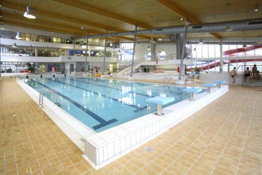 Aquapark Barrandov's first floor