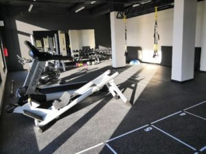 Sports equipment in Domeq gym