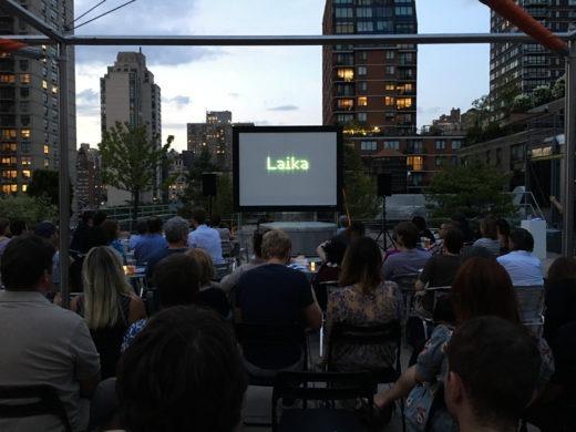 Laika film screening roof Czech Center New York