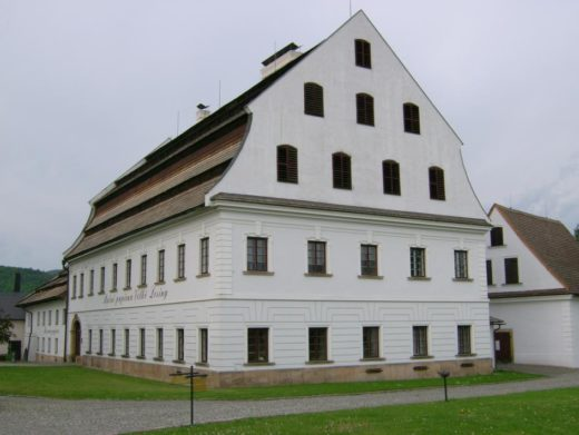 Velké Losiny paper factory