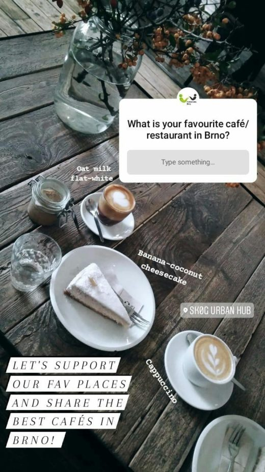 Original IG question café