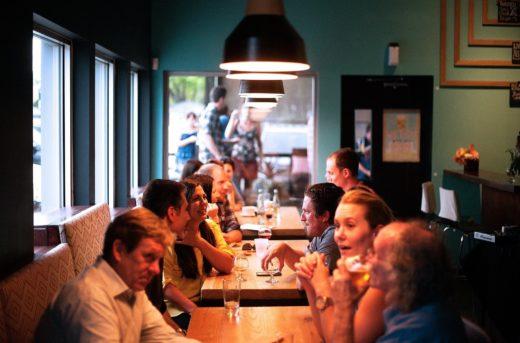 Restaurant interiors open on 31 May.