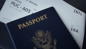 You may not be able to board if your passport doesn't have enough blank pages.