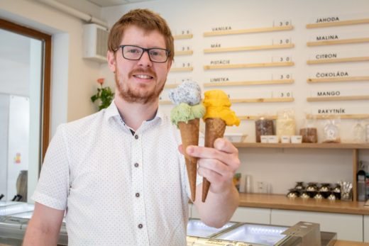 The idea is to offer quality and fresh ice cream to customers. - photo by Jan Prochazka