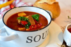 Traditional Czech soups tend to be thick and flavourful.