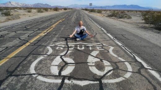 Marek on Route 66
